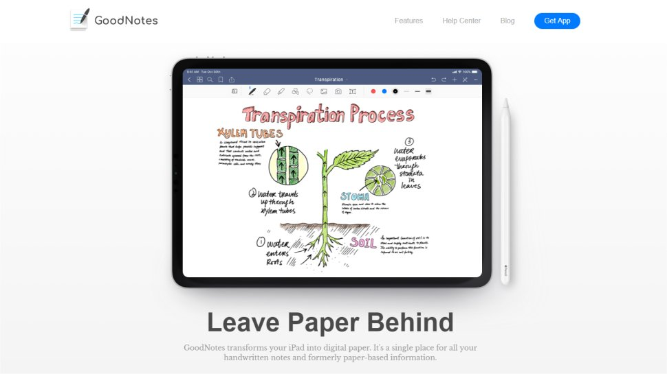 GoodNotes - The note app that focuses on handwriting