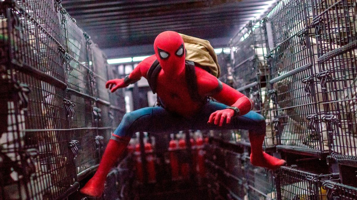 New Spider-Man: Homecoming image sees Spidey in a cage fight (kinda)