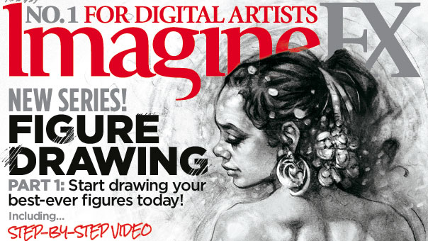 Improve your figure drawing with ImagineFX 167