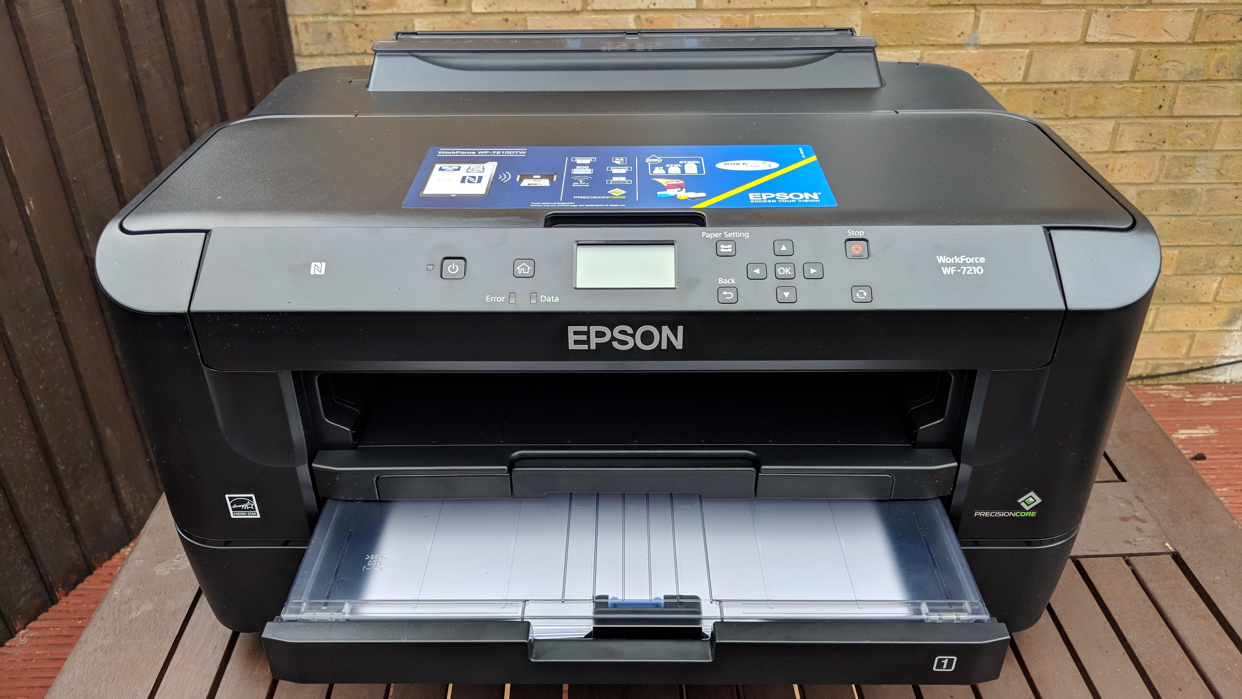 Printer closeup