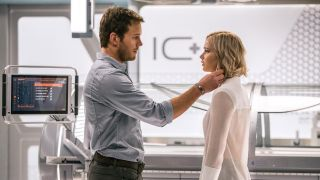 "Passengers review: ""Never quite delivers on its concept, or the prospect of its Lawrence/Pratt team-up"""
