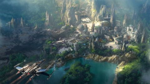 New sneak peek at Star Wars-themed land coming to Disneyland