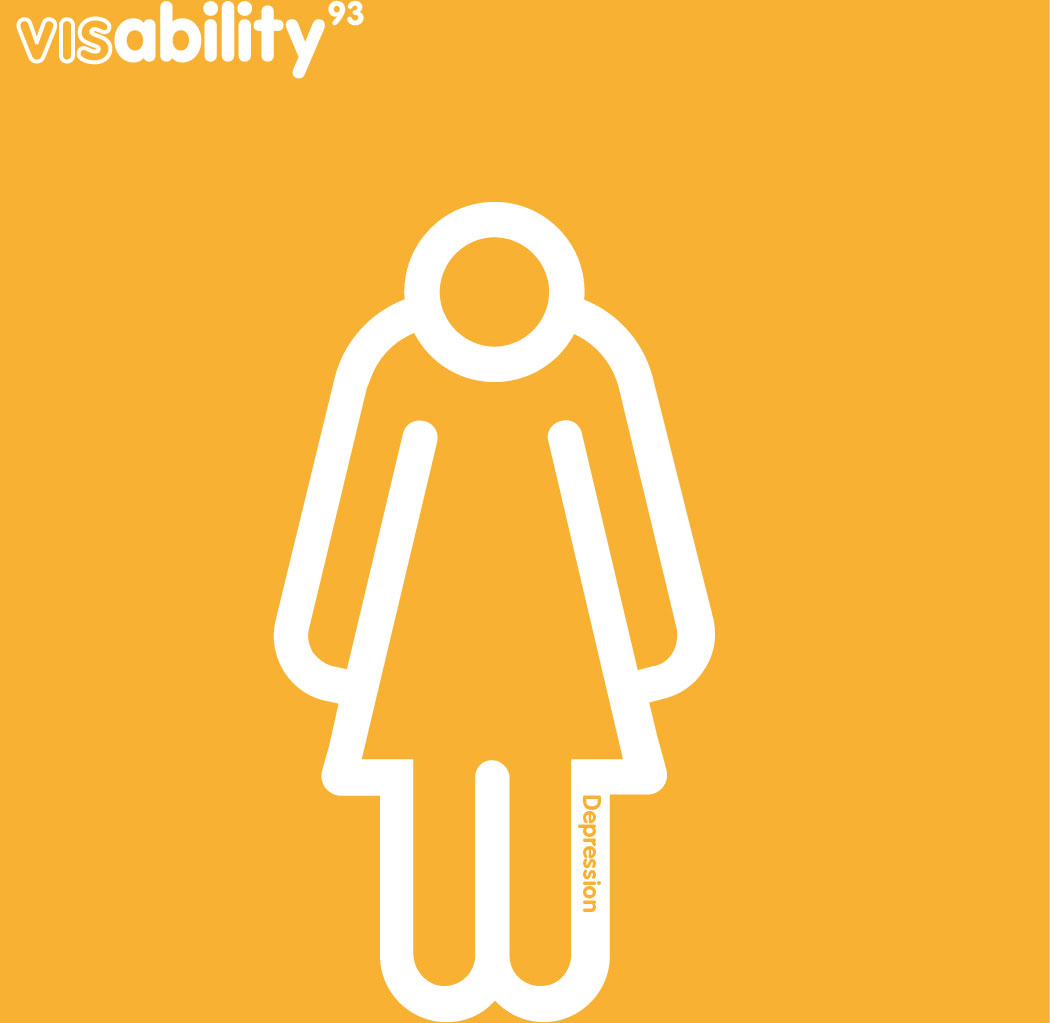 visbility93 icon set - depression