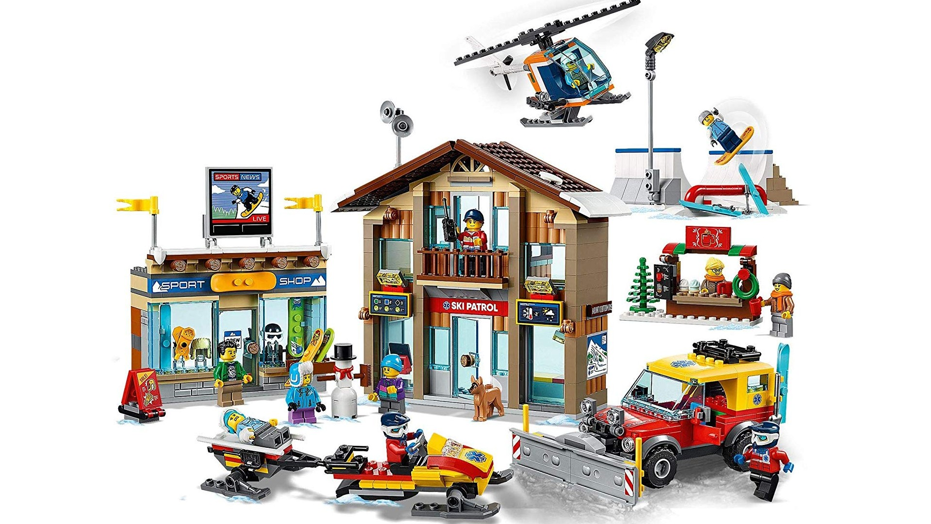 Best Lego City sets: Ski Resort
