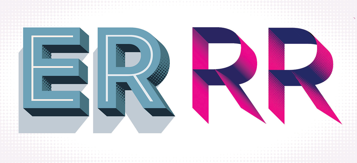 type experiments of 'er' and 'rr'