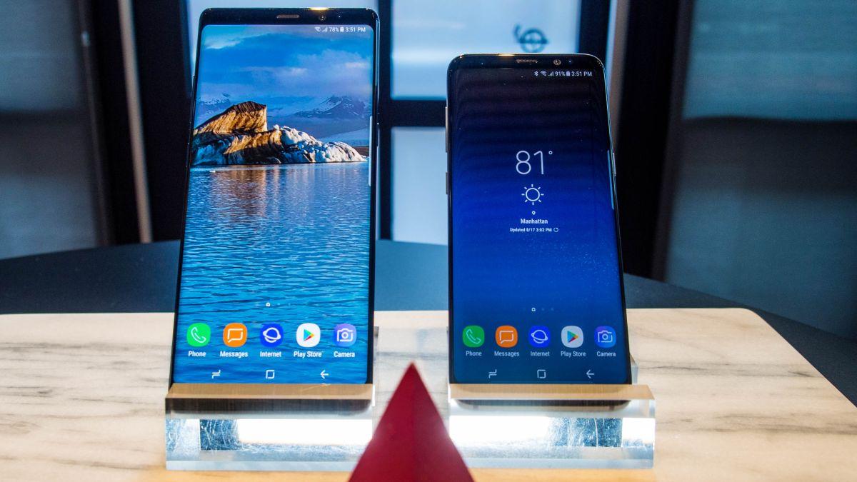 Samsung Galaxy Note 8 vs Samsung Galaxy S8