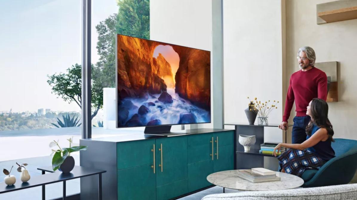 Samsung Q90 QLED TV. Image Credit: Samsung.