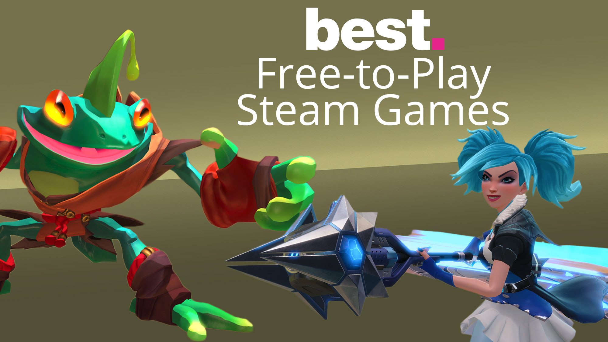 The best free – to – play Steam games 2020