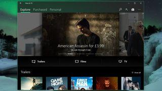 Windows Movies and TV
