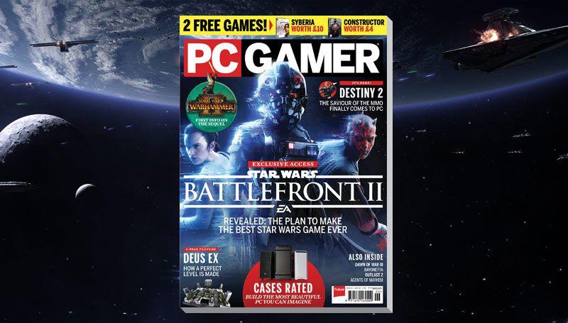 PC Gamer UK June issue: Star Wars Battlefront 2