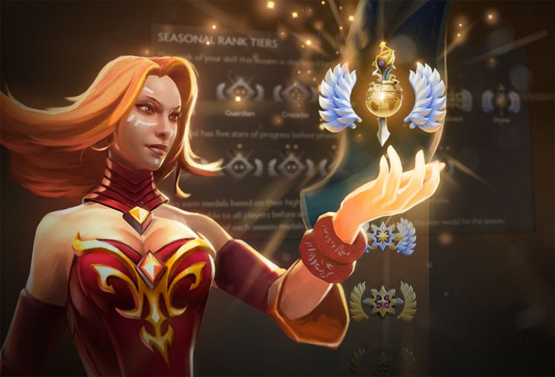 Herald Dota 2 Badge: Dota 2 Gets Multi-tiered Rank Medal System