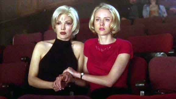 A still from the movie Mulholland Drive
