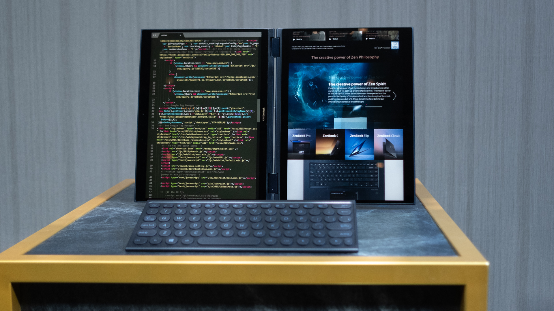 Asus Project Precog is a dual-screen AI-powered laptop from