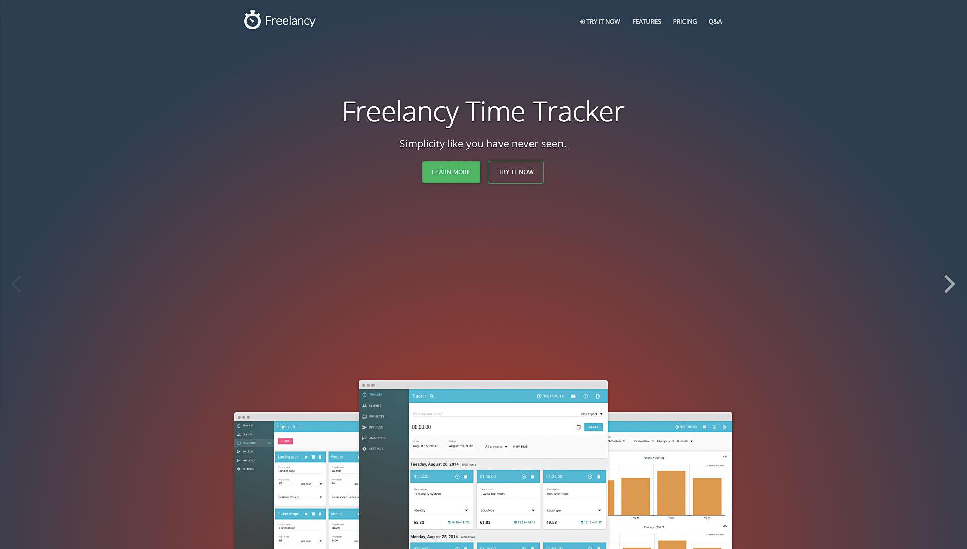 اگر شما ساعتی صورتحساب میدهید، Freelancy زمان صرف شده شما را به قرارداد تبدیل میکند; بدون استفاده از ریاضیات.
