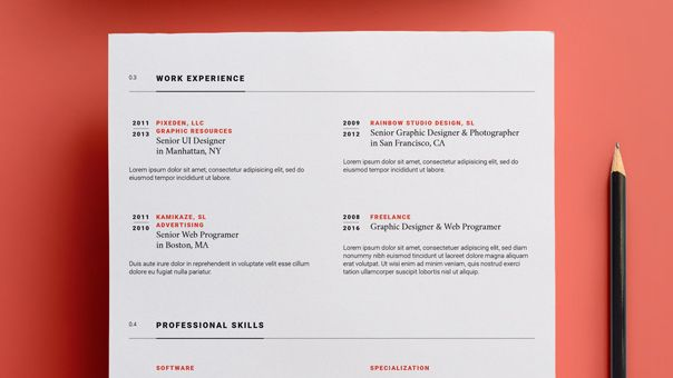 15 free resume templates creative bloq - Resume Templates For Designers