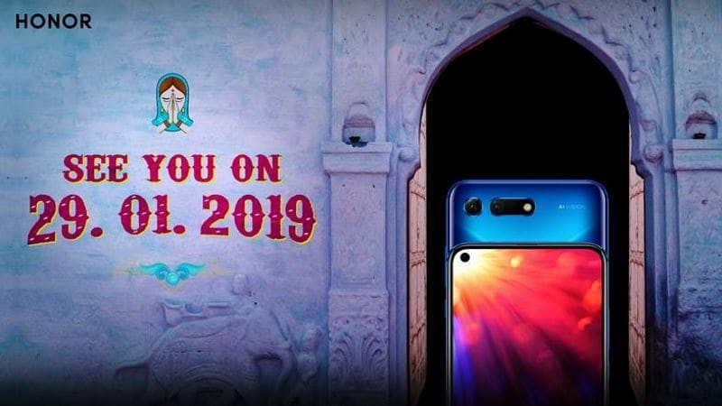 Honor View20 to launch in India on January 29