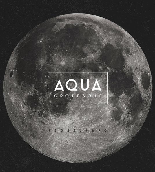 Free font: Aqua Grotesque