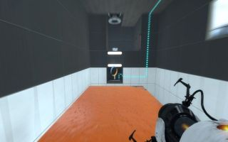Portal  Orange Gel Room