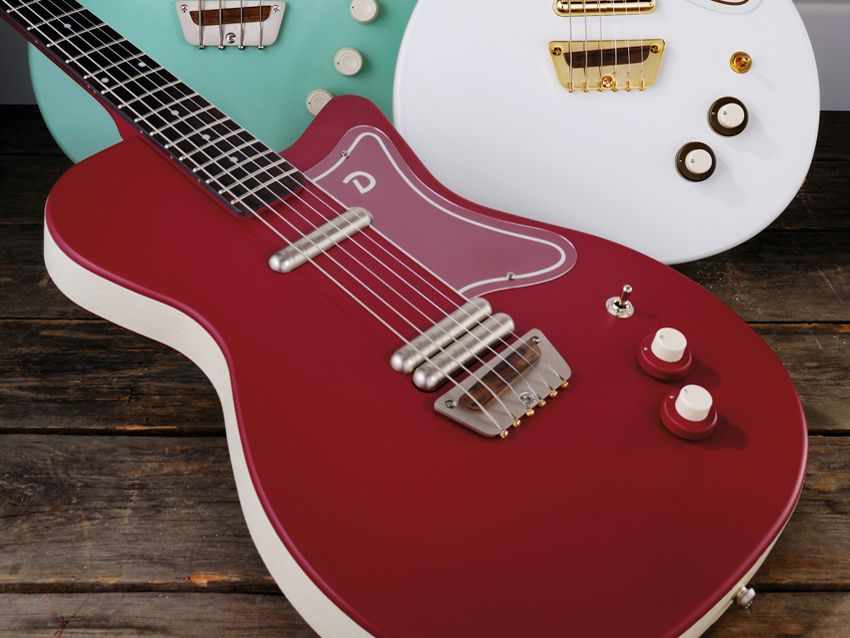 danelectro 39 56 single cutaway with humbucker review musicradar. Black Bedroom Furniture Sets. Home Design Ideas