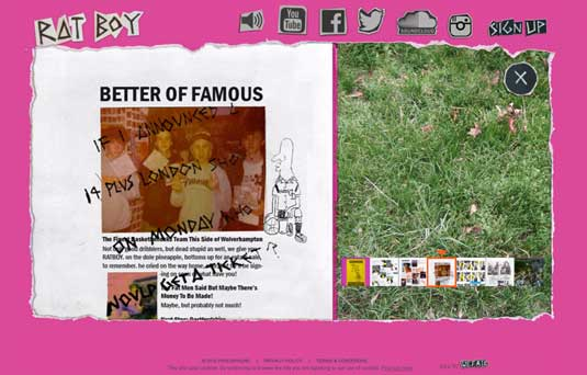 Ratboy website