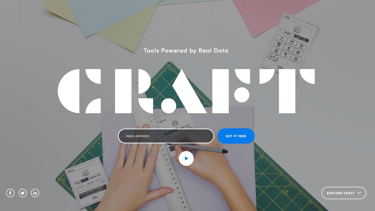 Best graphic design tools for April: Craft