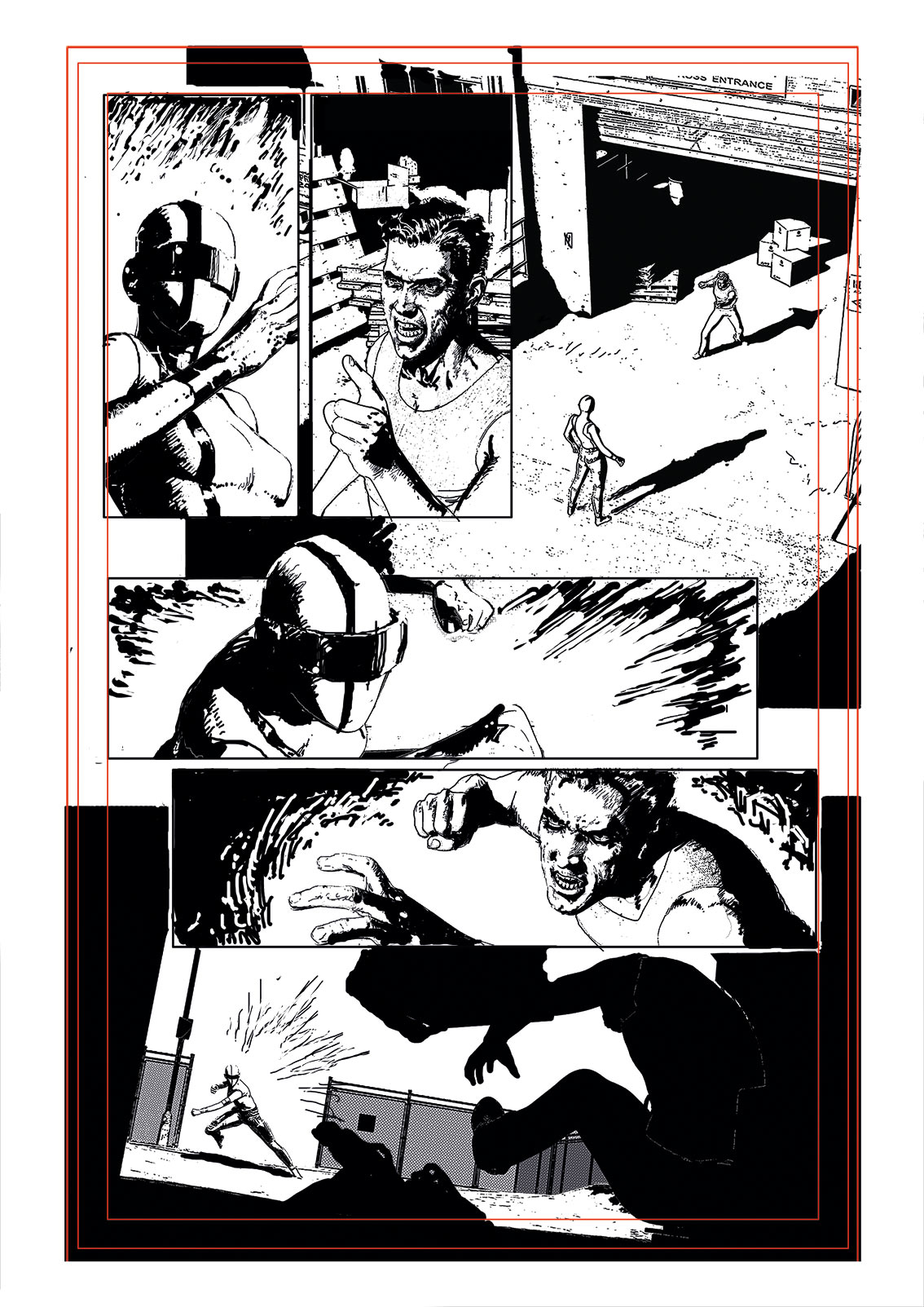 Comic art: how to make dynamic layouts easy to follow