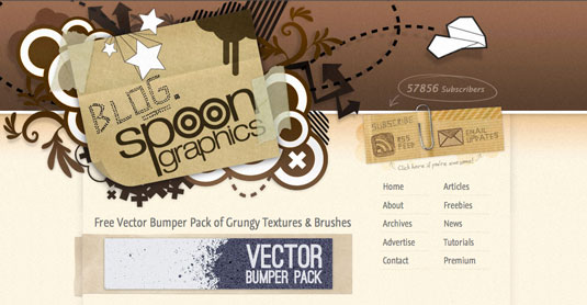 Free vector art: Spoongraphics