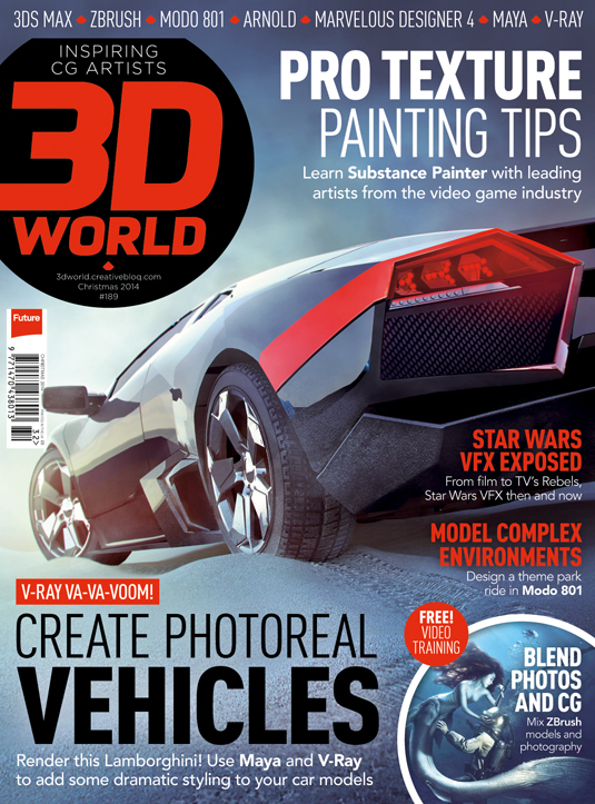 3D World issue 189