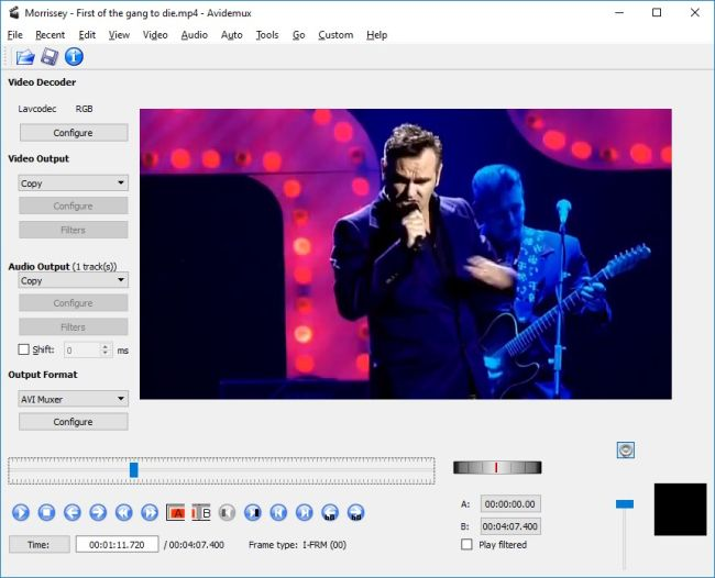 Avidemux - Free Video Editing Software