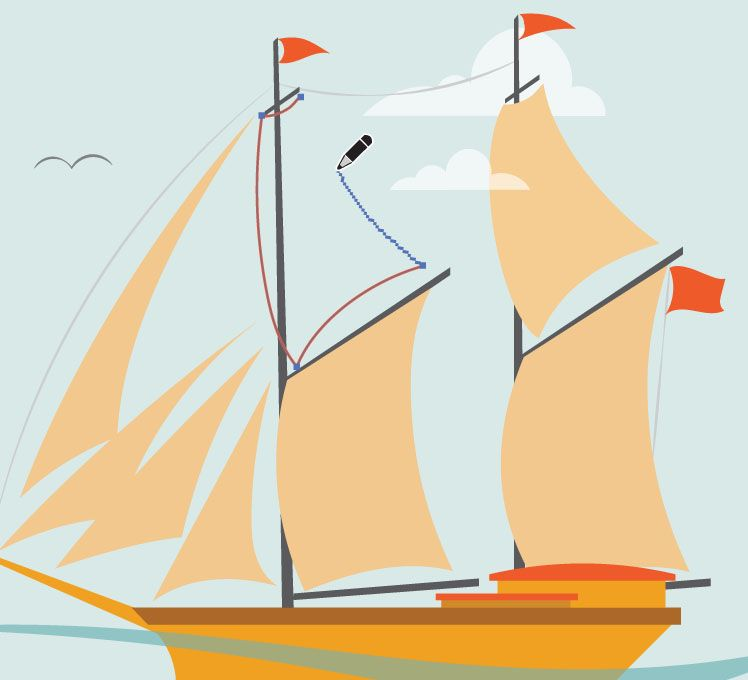 Drawing Smooth Lines In Illustrator : How to use the all new pencil tool in illustrator