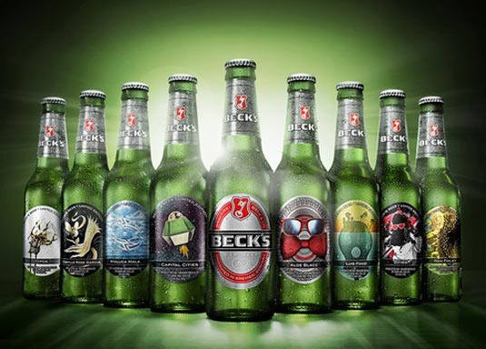 Beck's bottles