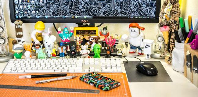 10 inspiring design toys for your desk