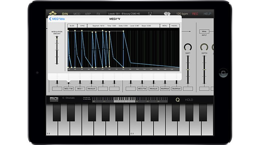 virsyn release mobile modular tera synth for ipad musicradar. Black Bedroom Furniture Sets. Home Design Ideas