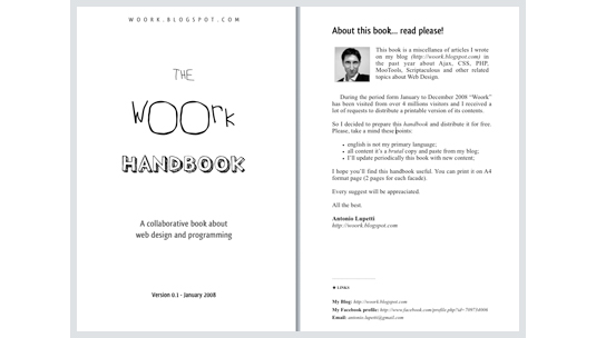 free ebooks for web designers: The Woork Handbook