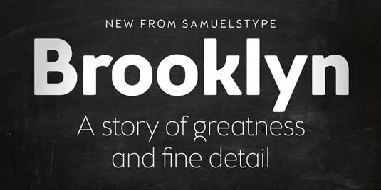 Brooklyn Samuels font