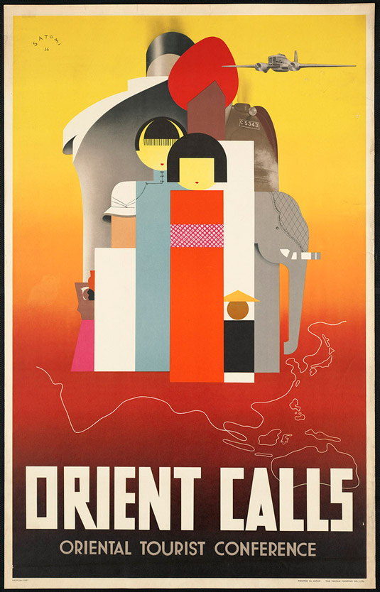 Travel posters - Orient