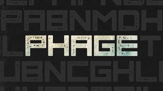 Free font: Phage