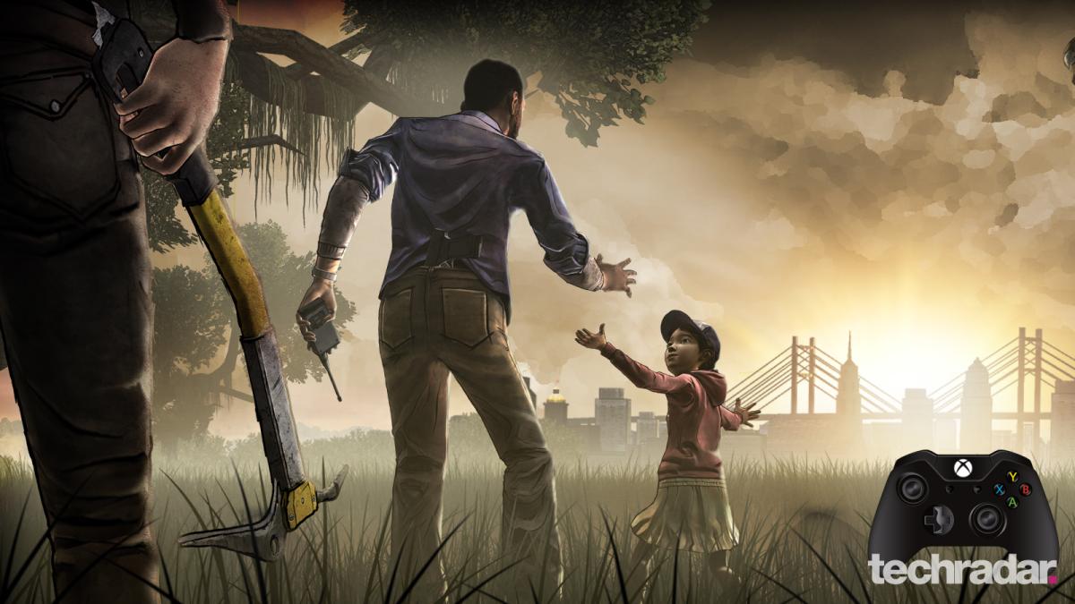 walking dead  triple  video games   zombies techradar