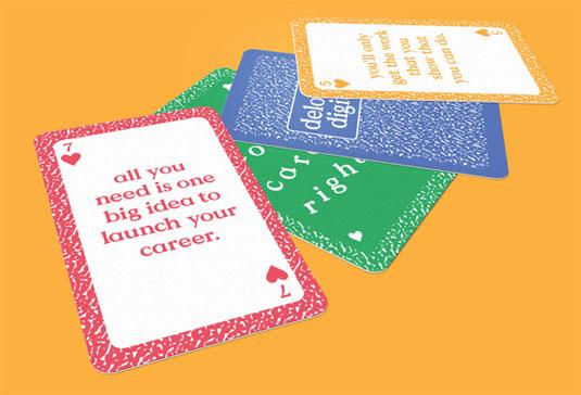 designer playing cards