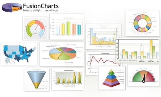 Data visualization: FusionCharts Suite XT