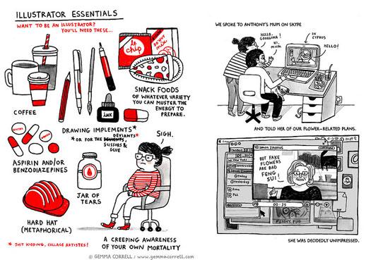 imaginative web comics: Daily Diary