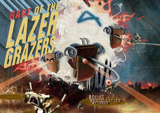 Darren Dubicki: Lazer Grazers