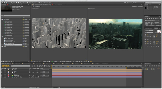 How to create a realistic 3D city