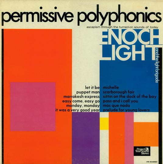 70s album covers: Permissive Polyphonics