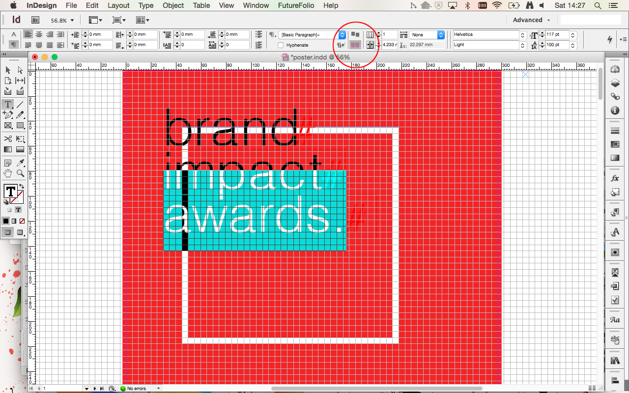 Poster design in indesign - Next Add The Key Text Information To Your Poster I Ll Be Using Helvetica For All The Type As I Already Have A Brand Style To Work To