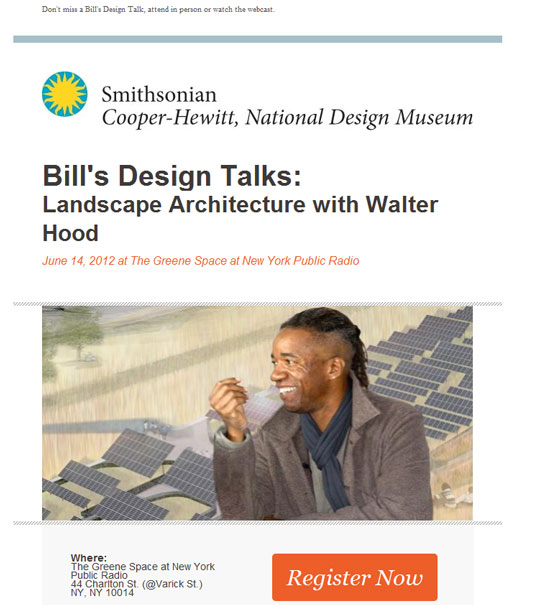email newsletter designs: Smithsonian