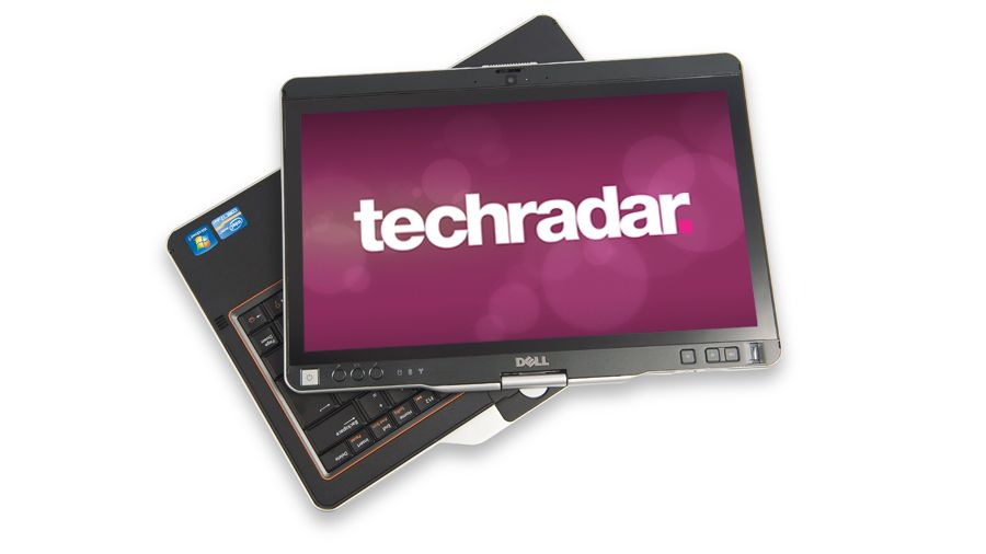 Dell Laptop Tablet Old Fashioned