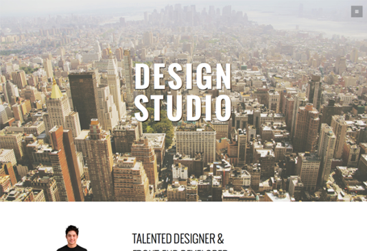 Free Bootstrap themes - Studio