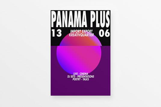 Flyer design: Panama Plus