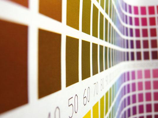 Colour management: Pantone swatches